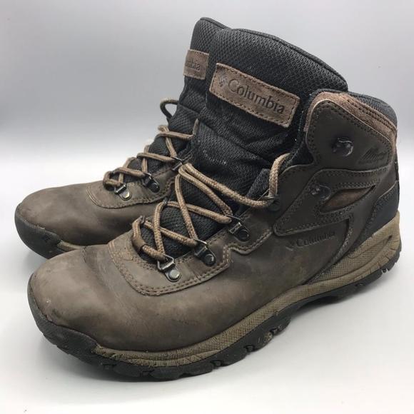 b1b850c04e8 Columbia Leather Hiking Boots Men's 10